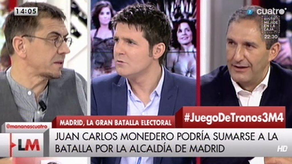 """¿Será candidato Monedero a la alcaldía de Madrid?: """"No he tomado la decisión"""""""