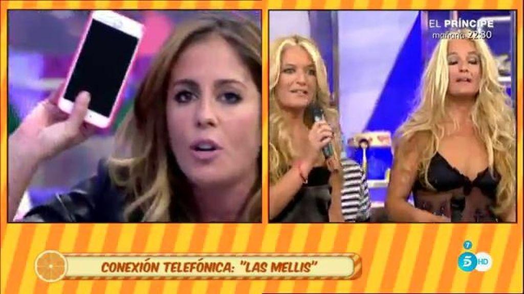 La defensa de Raquel Bollo, motivo de discordia entre Anabel Pantoja y 'Las Mellis'
