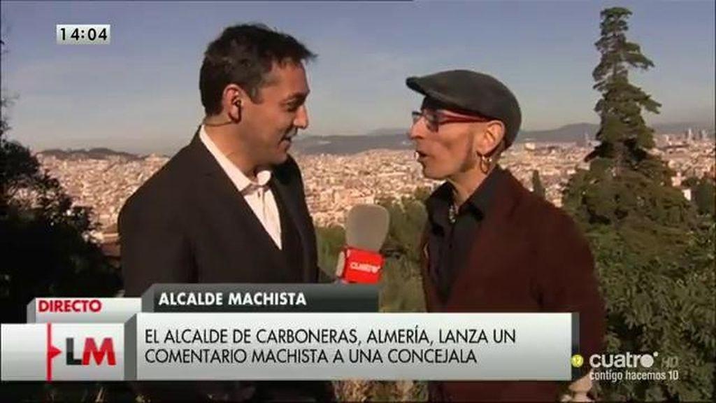 Javier Ruiz, en la entrega de los Premios Ondas