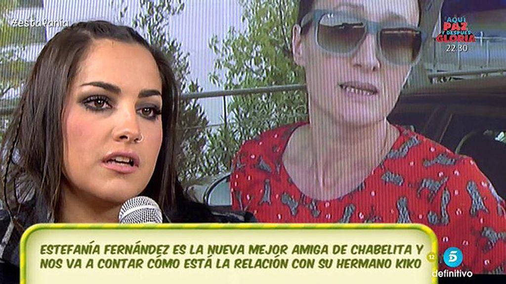 """Estefanía Fernández: """"Chabelita está dolida por la situación"""""""