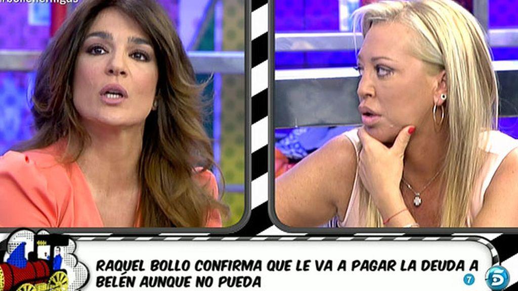 """Raquel Bollo: """"Voy a poner mi sueldo más el polígrafo y eso va íntegro para ella"""""""