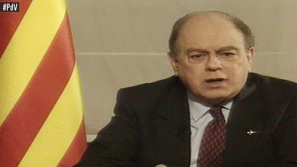 Pujol exigía ética a los catalanes en su último discurso como president