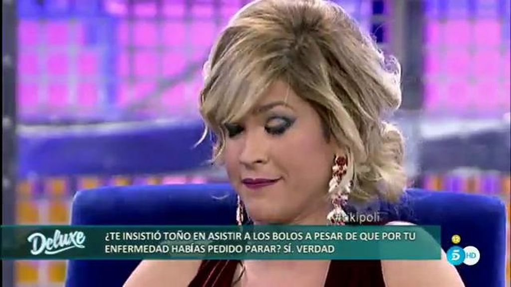 El polígrafo confirma que Agustín le dijo a Ylenia que estaba pasada de moda