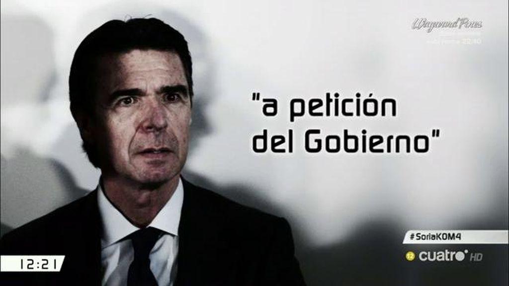 """Soria comunica su renuncia al puesto del Banco Mundial """"a petición del gobierno"""""""