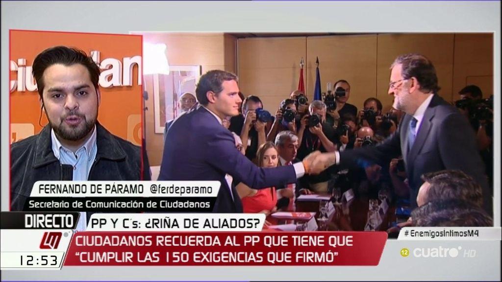 """De Páramo: """"Lo importante no es contentar al PP o al PSOE, sino hacer reformas"""""""