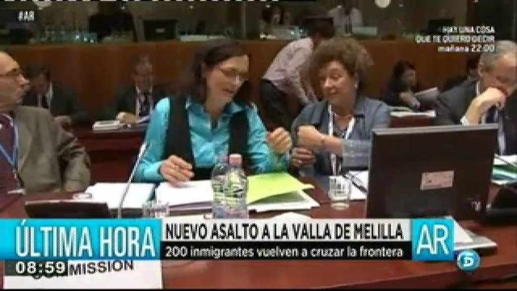 La comisaria europea del interior culpa a la guardia civil de la muerte de 15 inmigrantes