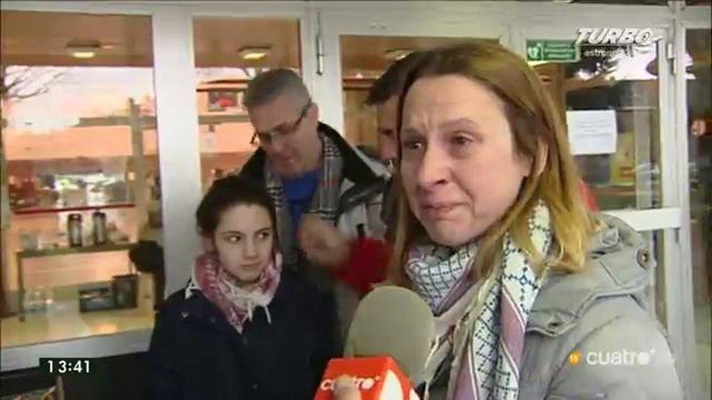"""Una española, emocionada ante la ayuda recibida en Bruselas: """"No tengo palabras de agradecimiento"""""""