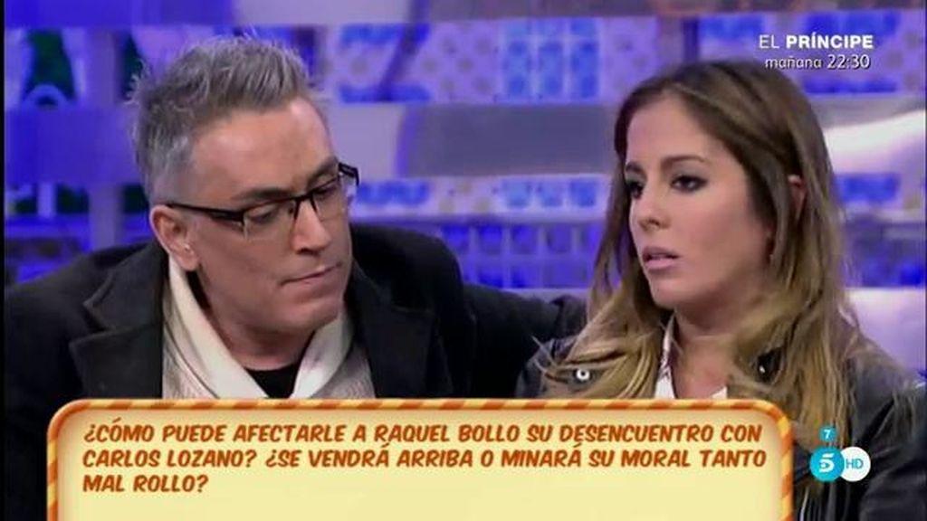 Anabel Pantoja imita a Kiko Hernández