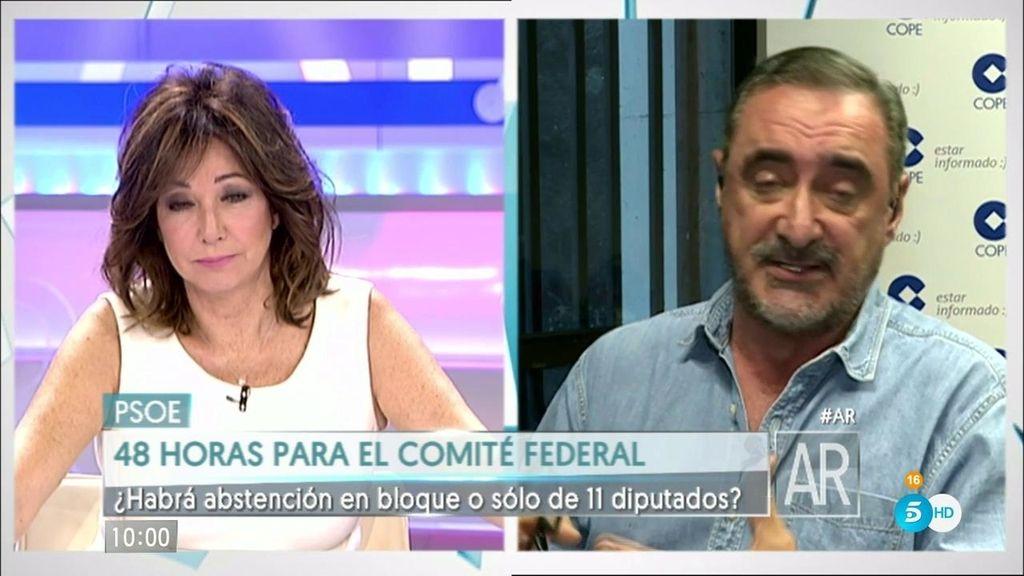 """Carlos Herrera: """"No descarto sorpresas, pero creo que va a salir la abstención"""""""