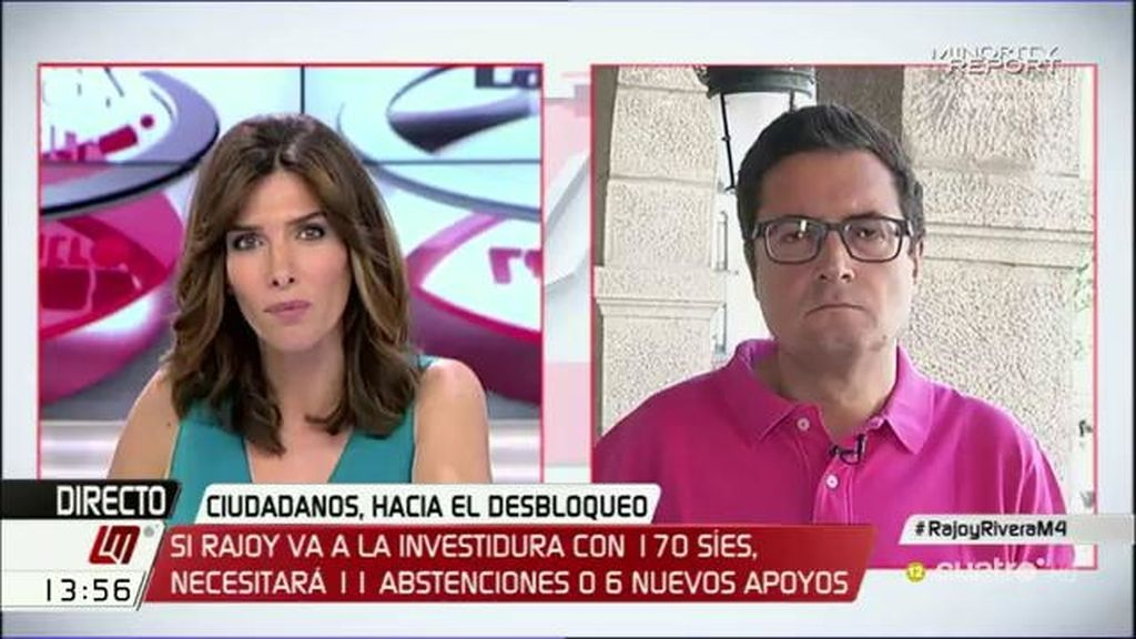 """O. López: """"El comité federal del PSOE fijó una posición y no ha cambiado, votar no"""""""