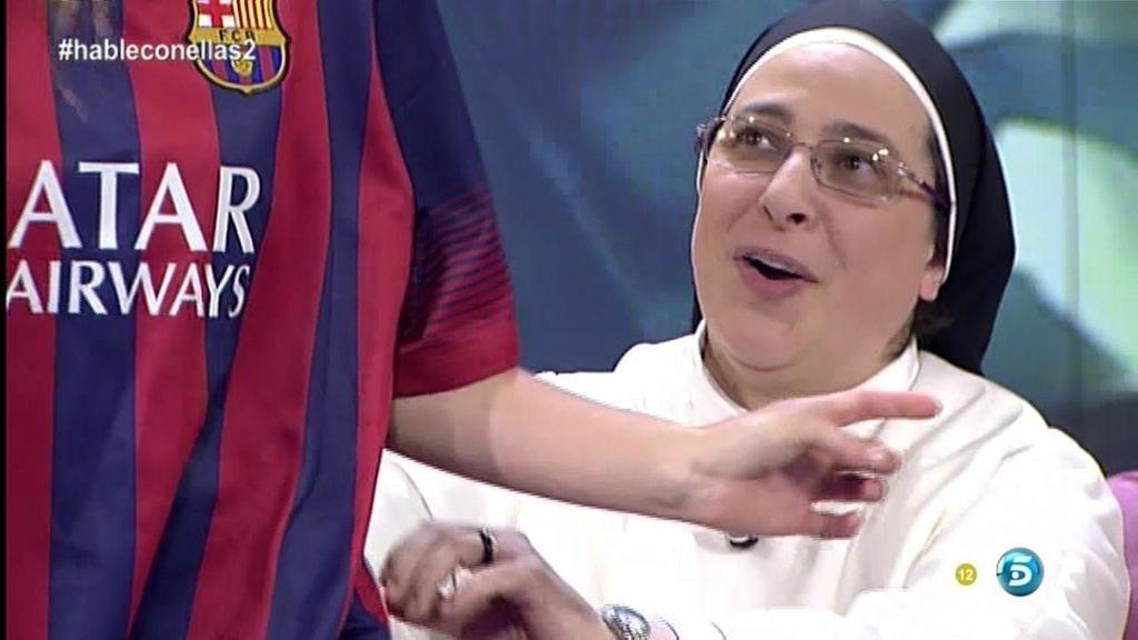 """Lucía Caram: """"Tuiteo los partidos del Barca"""""""
