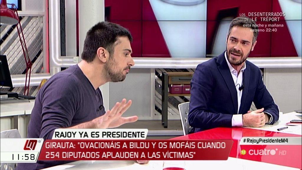 """Ramón Espinar: """"¡Vaya estilazo tiene el PSOE de Susana Díaz!"""""""