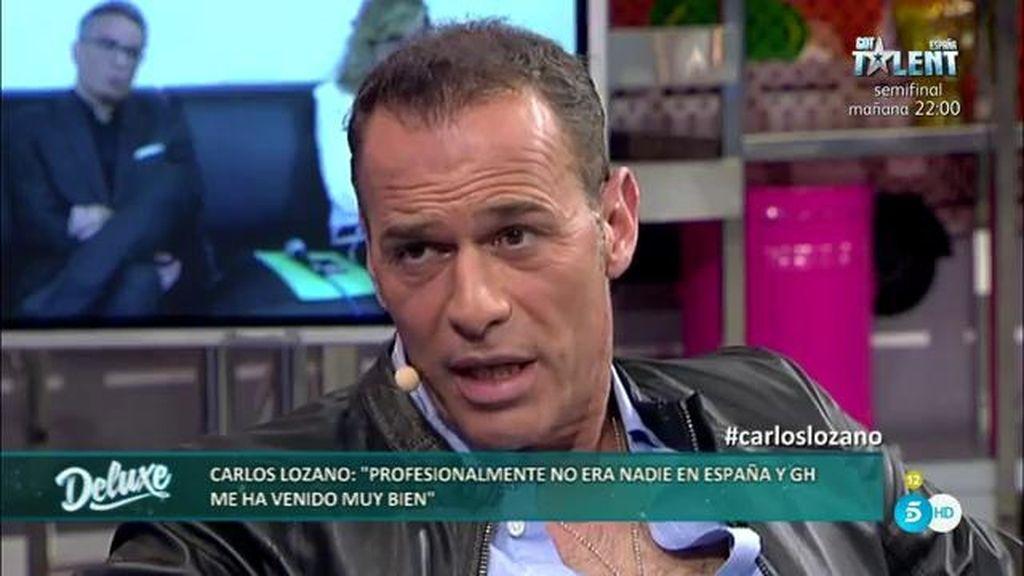 """Carlos Lozano: """"Me gusta ir al corazón de las personas para ver si son de verdad"""""""