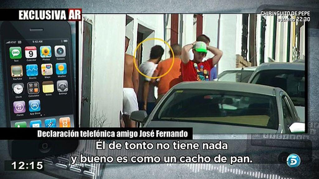 """'AR' habla con un amigo de J. Fernando: """"Se ha ido echando a perder pero es muy bueno"""""""