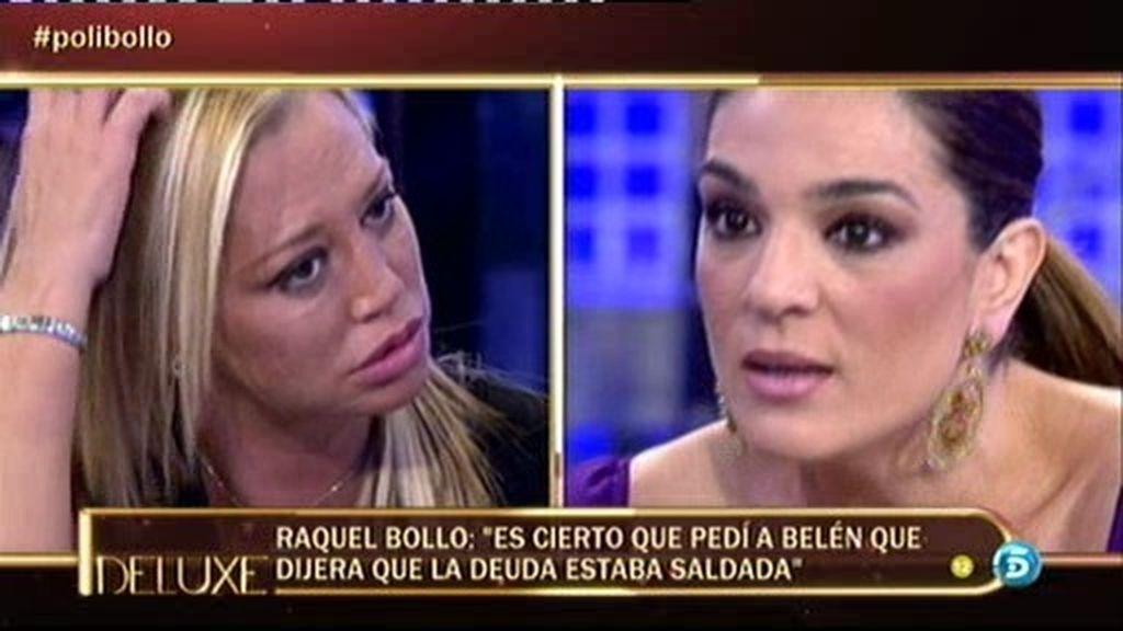 Belén Esteban y Raquel Bollo, enfrentadas por la deuda