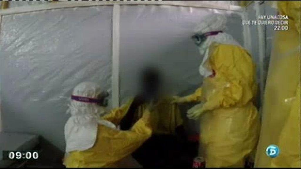 Ingresado un hombre en Basurto con síntomas de ébola