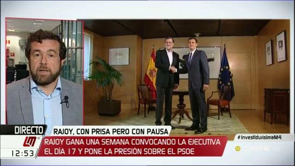 """M. Gutiérrez (C's): """"Nuestras propuestas son tan sencillas que sólo hay que decir sí o no, no cabe matización"""""""