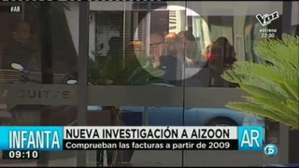 Hacienda investiga las facturas de Aizoon a partir de 2009