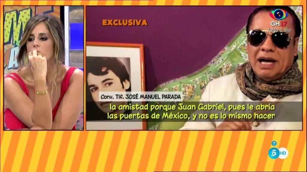 """Parada: """"Parece que últimamente, la relación de Pantoja y Juan Gabriel no era tan buena"""""""