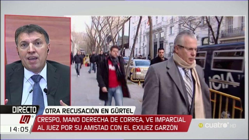 """Joaquim Bosch: """"Un acusado no puede decidir quién será su juez"""""""