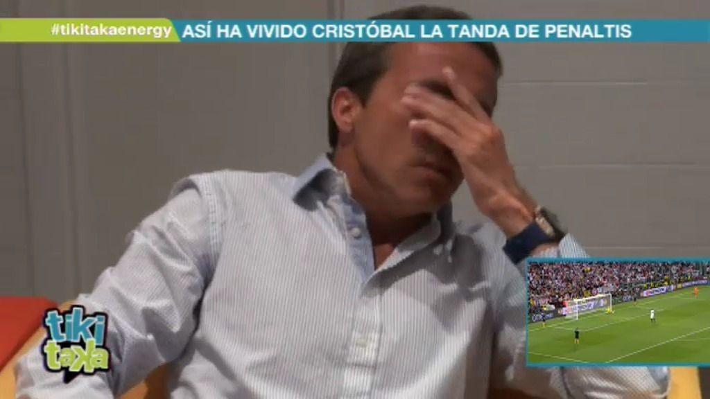 Así vivió Cristóbal Soria la tanda de penaltis