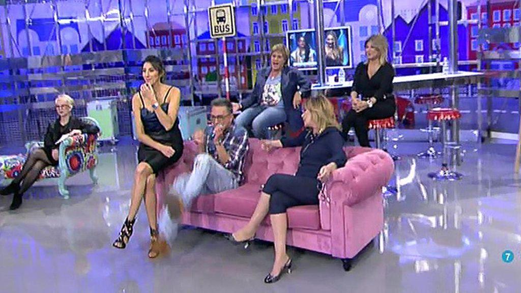 Kiko Hernández imita a Lucía (GH 15)