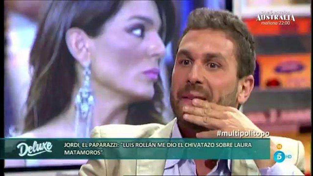 El paparazzi asegura que Luis Rollán no se ha lucrado con las fotos de Laura Matamoros