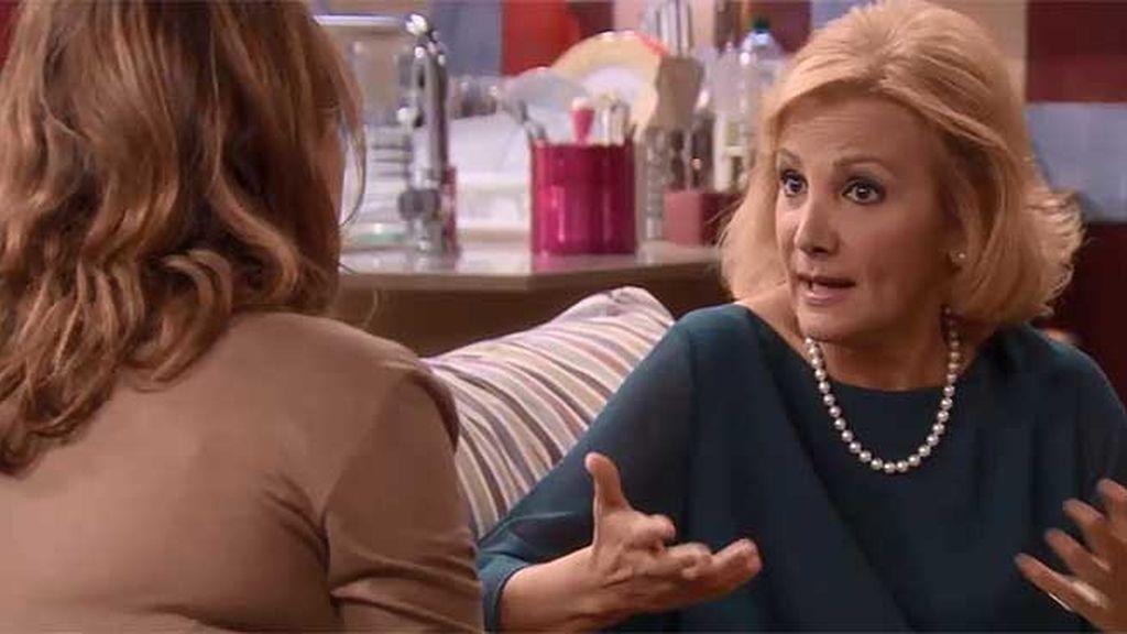 Maruchi pide un gran favor a Lucía