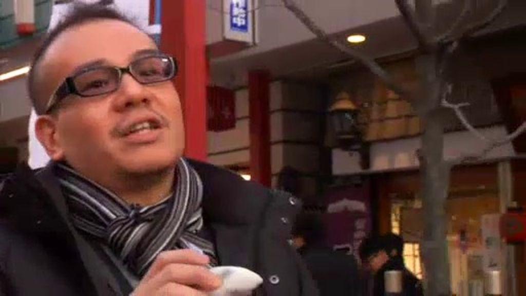 Pepito, un cocinero japonés de pata negra