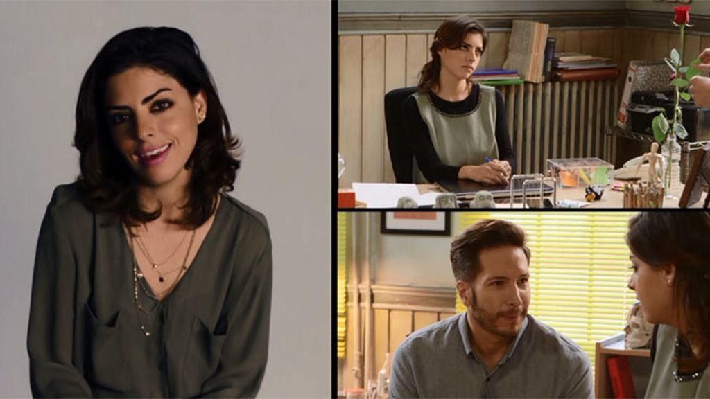 La actriz Isabel Burr nos cuenta cómo su corazón se debate entre Miguel y Gustavo