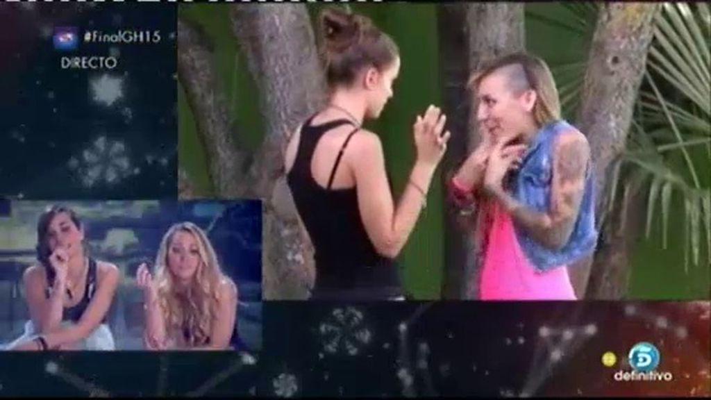 """Alejandra: """"No me ha sorprendido ver las discusiones que he tenido con Paula"""""""