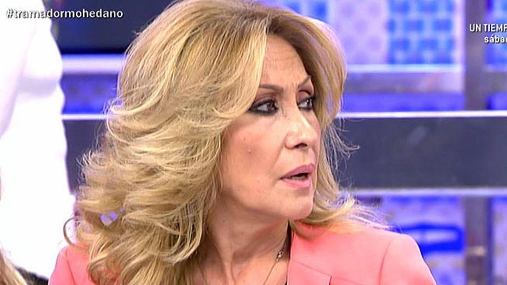 """Jorge Javier, a Rosa: """"Pues yo creo que vas a volver con Amador Mohedano"""""""