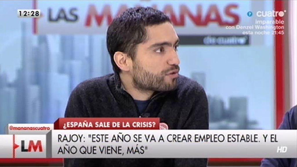 """Tohíl Delgado: """"Este presidente no es que viva en otro país es que vive en otro planeta"""""""
