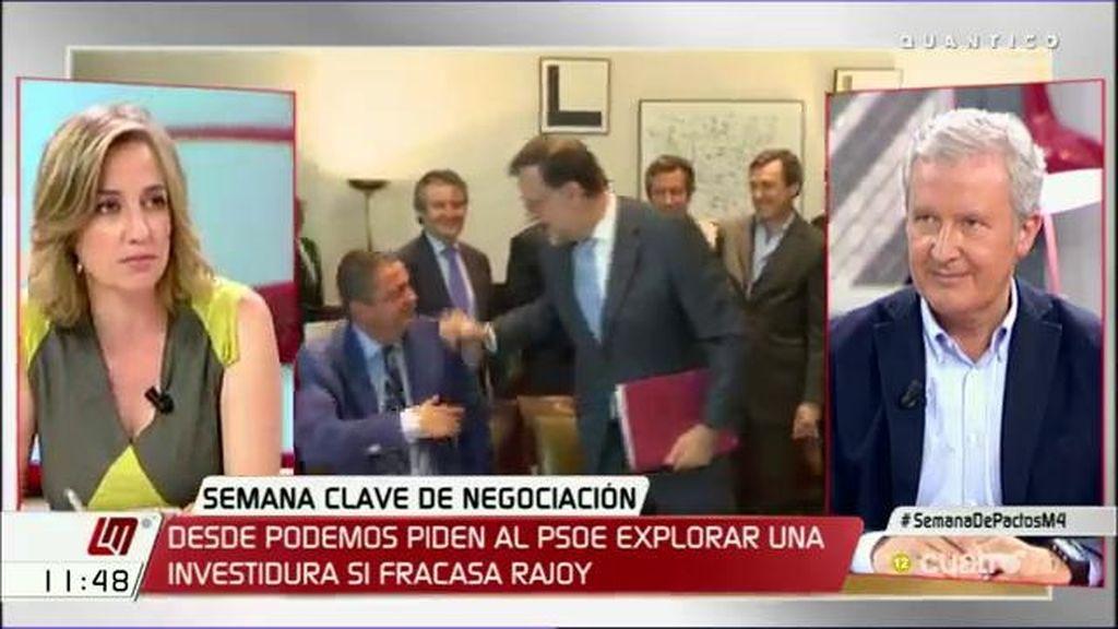 """T.Sánchez: """"Rajoy tiene que intentar formar un gobierno, si eso no se consigue, nosotros no queremos terceras elecciones"""""""