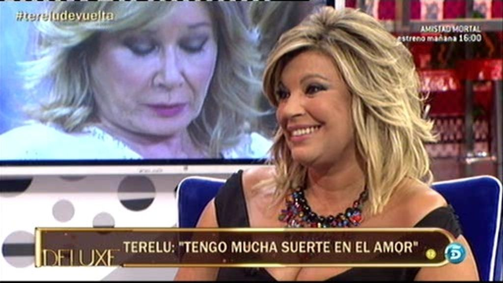 """Terelu: """"Yo le debo mucho a José Valenciano, me ha ayudado mucho"""""""