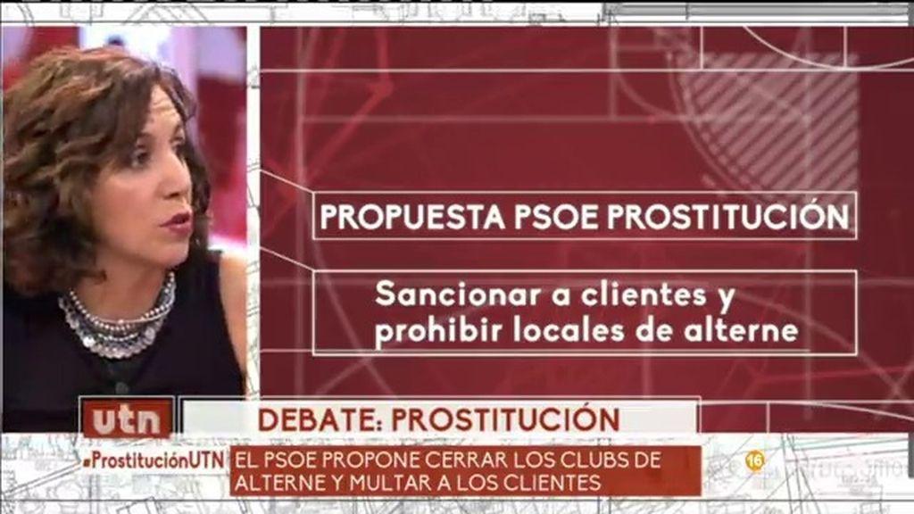 """Irene Lozano: """"No voy a hablar de pactos, solo intentaré que la gente vote a PSOE"""""""