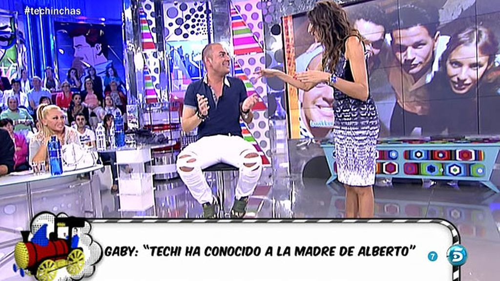"""Techi ha conocido a la madre de Alberto"""