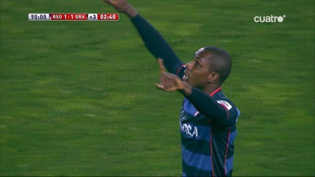 Gol de Ighalo (Real Sociedad 1-1 Granada)