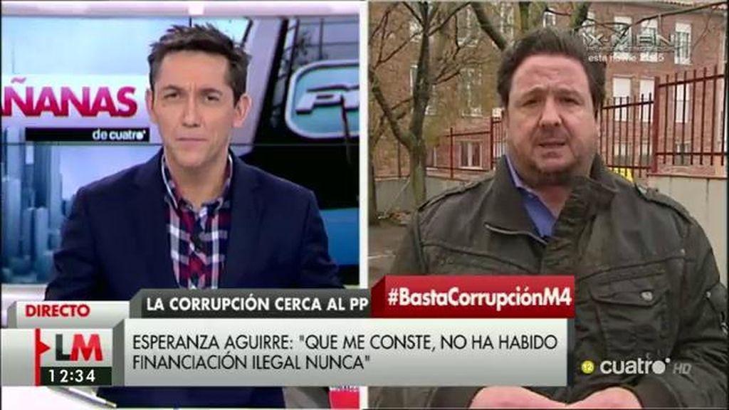 """Peñas, de Aguirre: """"Cada día tengo más claro de que era conocedora de los tejemanejes"""""""