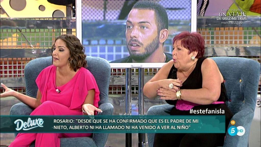 """Estefanía y su madre: """"Alberto Isla es muy mentiroso y no va a ser buen padre"""""""