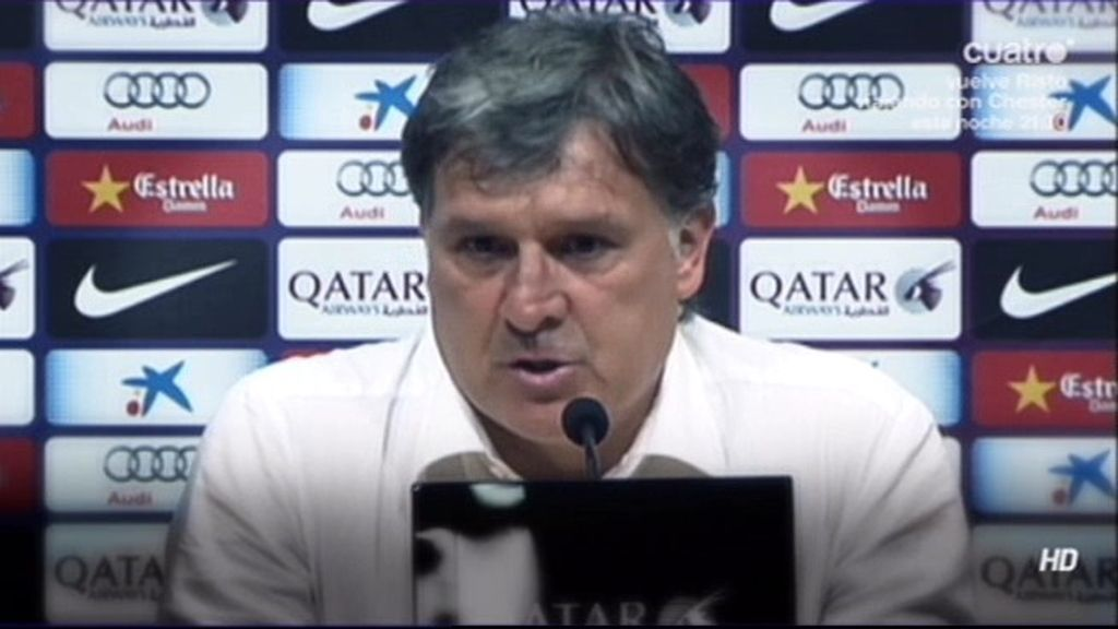 Tata Martino confirmó su marcha del Barça tras un año en blanco