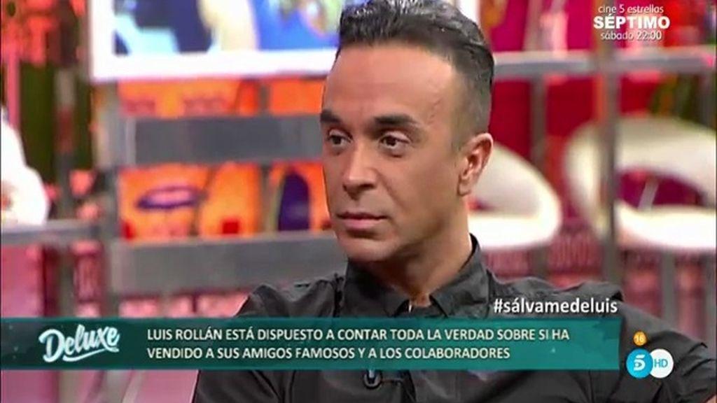 """Luis Rollán, en su entrevista más sincera: """"Me he equivocado con Laura Matamoros"""""""