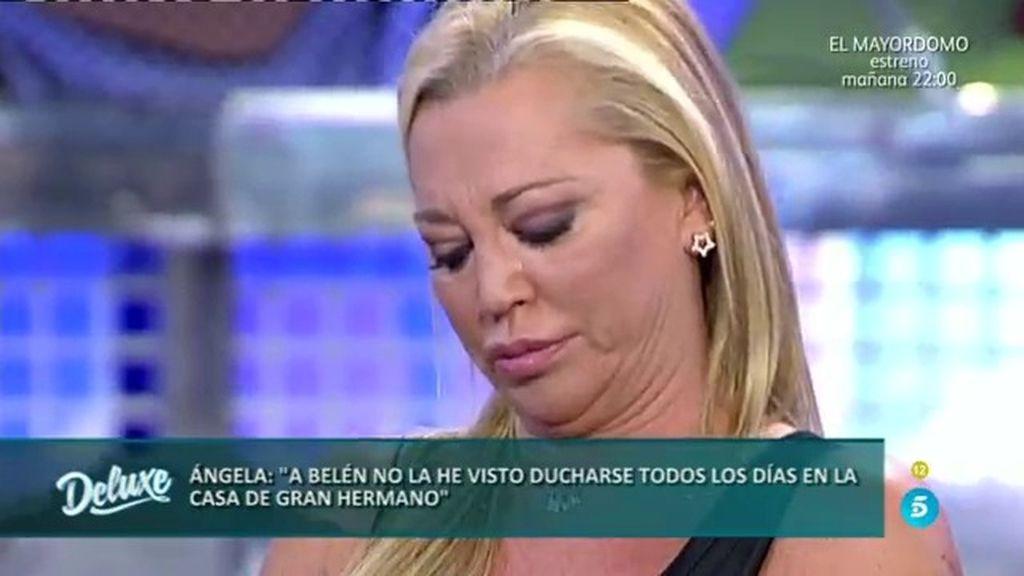 Belén, rota después de que Ángela Portero insinue que no se duchaba en 'GH VIP'