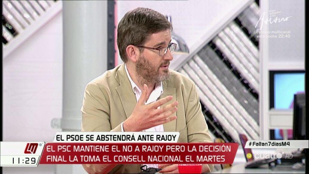 """I. Urquizu (PSOE) :""""Casi todas las decisiones, fuéramos por donde fuéramos, iban a tener costes electorales"""""""
