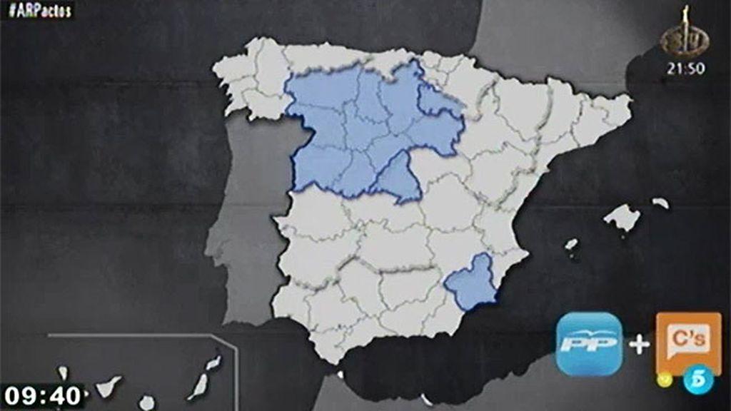 El mapa de los pactos