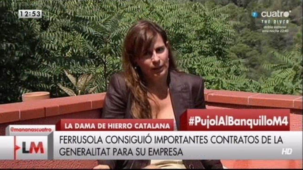 """Victoria Álvarez: """"Pujol generó el odio de Cataluña hacia el resto de España"""""""