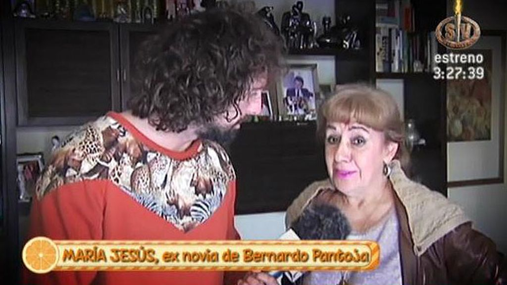 """María Jesús, exnovia de Bernardo Pantoja: """"Él quiere a su familia con locura"""""""