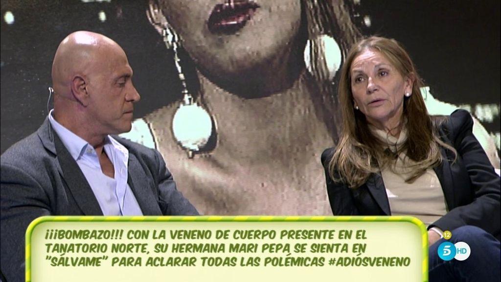 """Mari Pepa, hermana de La Veneno: """"Cristina quería vender una cosa que no era"""""""