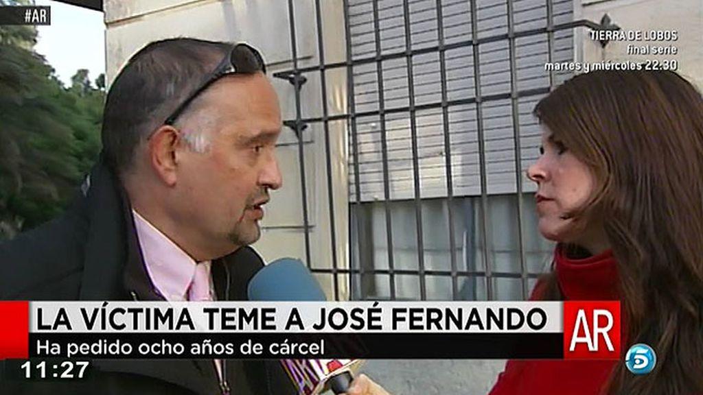 """Manzaneque, abogado de la víctima de José Fernando: """"En febrero podría ser el juicio"""""""