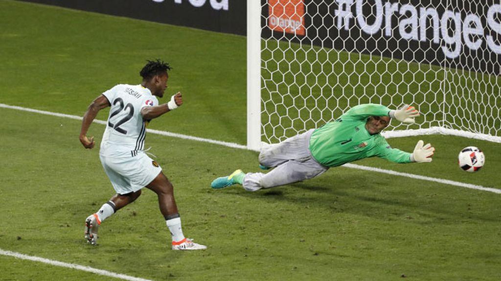 ¡Gol de Bélgica! Autopase de Hazard para que Batshuayi remate a puerta vacía (0-2)